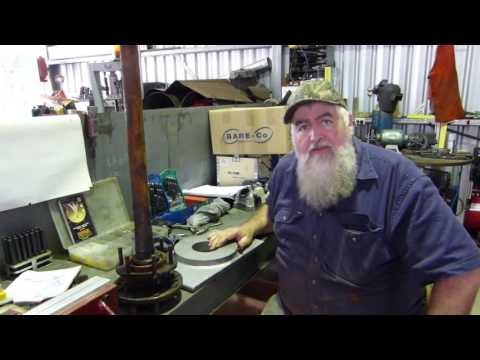 Making a Ferguson TE20 Tractor Axle Puller Plate Part 1