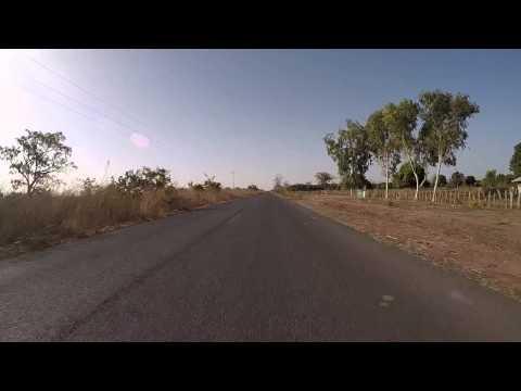 Gambie route vers Sénégal filmée en Gopro / Gambia Road to Senegal, Gopro