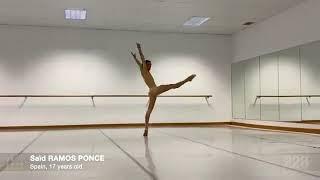 """Saïd Ramos, finalista """"prix de Lausanne"""" 2021. variación """"Rain"""""""