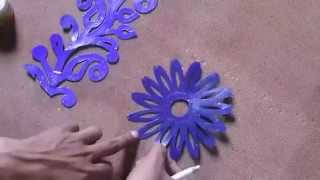 Learn Online Fabric Painting courses Part 5 of 8 By Prasanta Kar