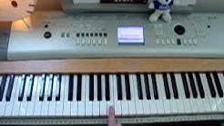 Sad Love Story theme-- Piano Tutorial