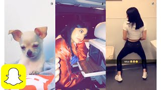 kylie jenner w stas jordyn and harry on snapchat   kylie snaps