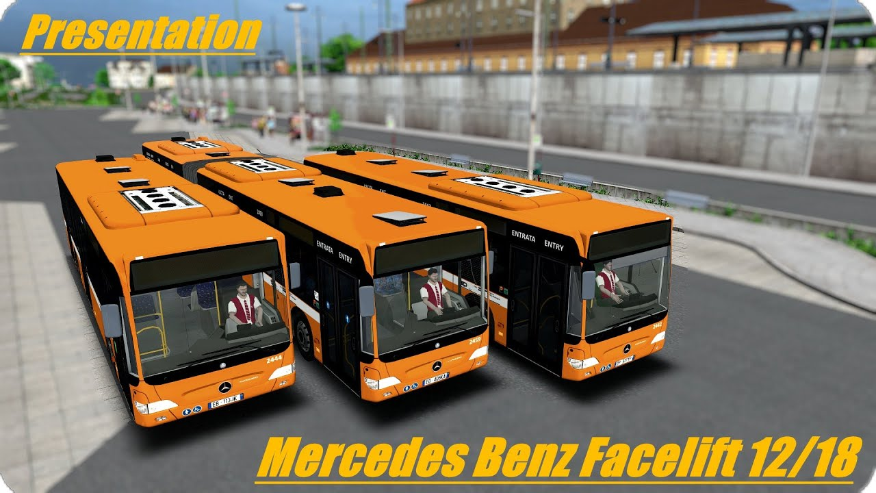 Omsi mercedes citaro facelift download