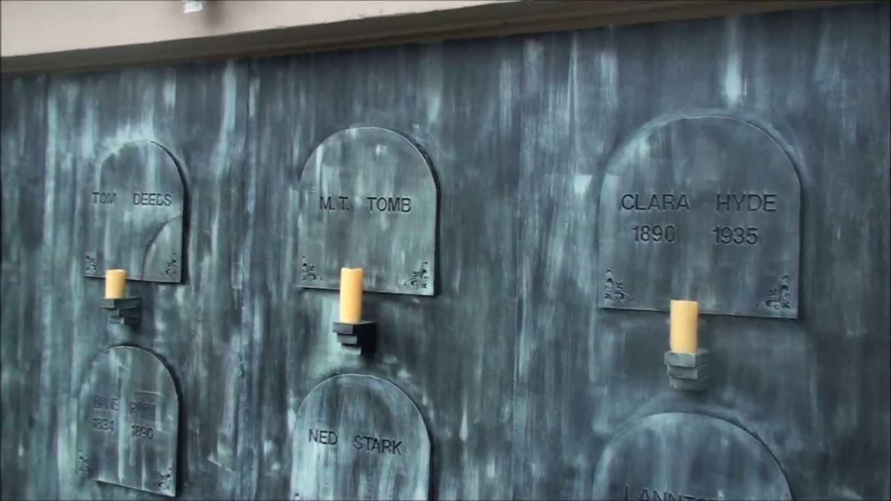 Diy halloween garage door decorations - Diy Halloween Garage Door Decorations 58