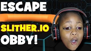 Escape Slither.io Obby | NEW OBBY | Roblox
