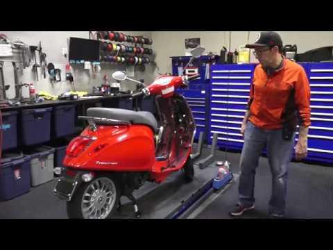 Vespa Primavera 50cc to 150cc Conversion