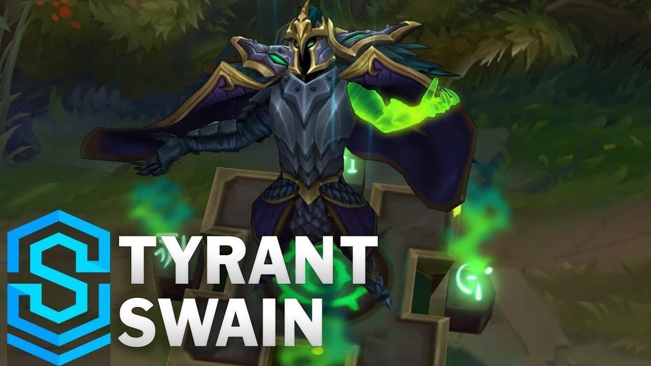 Tyrant Swain Skin Spotlight – Pre-Release – League of Legends