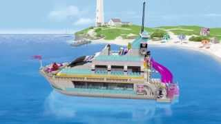 Lego Friends | 41015 | Dolphin Cruiser | Lego 3D Review