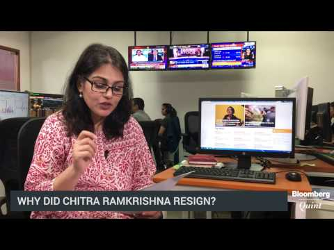 What May Have Prompted Chitra Ramkrishna's Resignation?