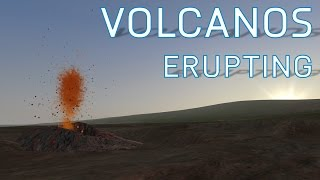 FSX Active Erupting Volcanos | How to Find Them | Hawaii