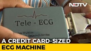 Indian Scientists Develop Credit-Card Sized ECG Machine, Costs Just Rs. 4,000