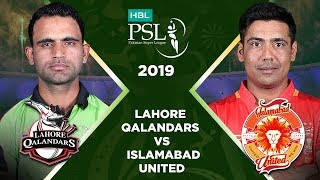 Match 27: Full Match Highlights Lahore Qalandars vs Islamabad United | HBL PSL 4 | HBL PSL 2019