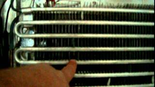Refrigerator Cooling System Removal Without Cutting Refrigerant Lines