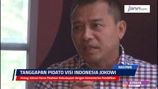 Anang: Jokowi Harus Pisahkan Kebudayaan dengan Kementerian Pendidikan