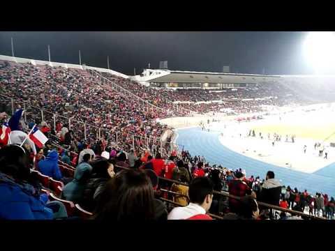 Ola y gol (Chile vs Burkina Faso)