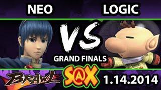 S@X Weekly - Neo (Marth) Vs. VGBC | Logic (Olimar) SSBB Grand Finals - Smash Brawl