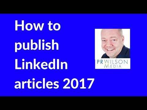 How to post status updates in LinkedIn 2017