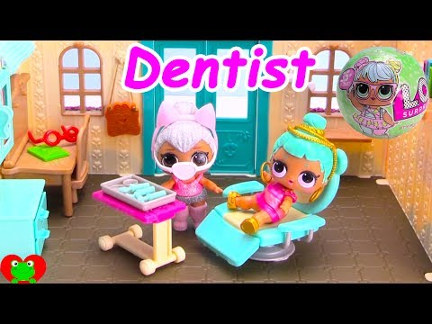 LOL Surprise Doll Visits The Dentist