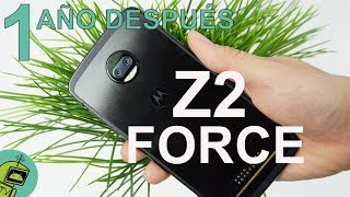 Moto Z2 Force REVIEW / Un año después