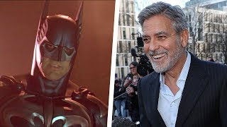George Clooney Admits He 'Screwed' Up Playing Batman