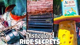 Top 7 Hidden & Abandoned Secrets of Disneyland Rides Ft  Yesterworld