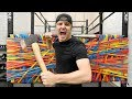 100 LAYERS OF RUBBER BANDS (DANGER ALERT) UNBREAKABLE WALL