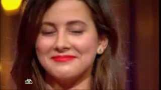 Анастасия Кожевникова на кастинге в шоу Хочу V ВИА Гру ( 1 тур )