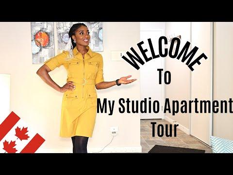 My Edmonton Studio Apartment Tour