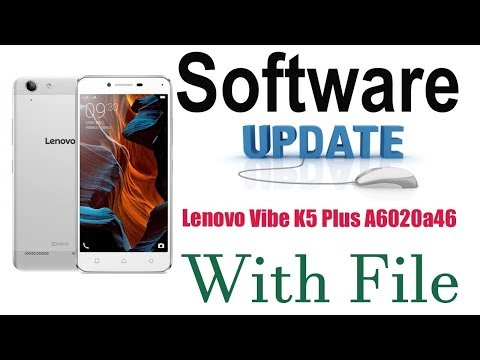 Lenovo Vibe K5 Plus A6020a46 Software Update And Flashing