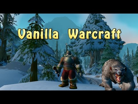 Vanilla Wow V1 12 1 Dwarf Hunter I Have To Buy Pet Skills Youtube