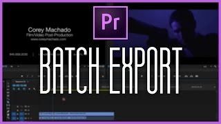 How to Batch Export Multiple Clips