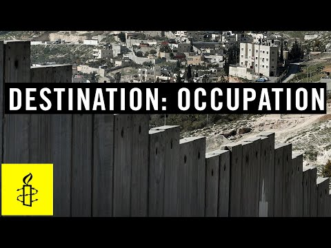 Destination: Occupation - Tourism in the Occupied Palestinia