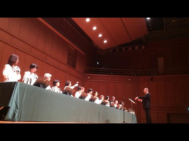 ハンドベル White Christmas, Kobe YMCA Bell-choir (Dir. Nozomu Abe) 2017 Dec,
