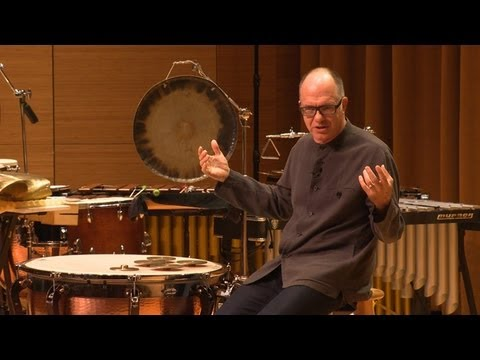 On the Bridge: The Beginnings of Contemporary Percussion Music with Steven Schick -- To Be Musical