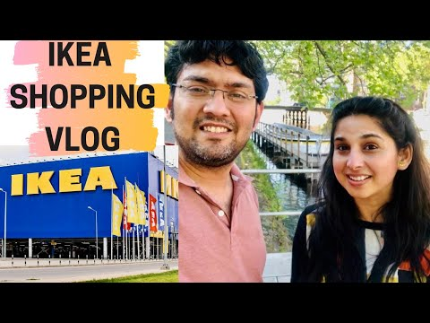 Buying Our Office Furniture From Ikea | Working From Home Setup Part 1 | Hindi Vlog | Life In Europe