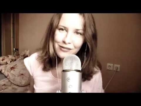 ASMR Em PORTUGUES Com Sotaque RUSSO Leitura Em Voz Baixa Fala Suave Para Dar Sono