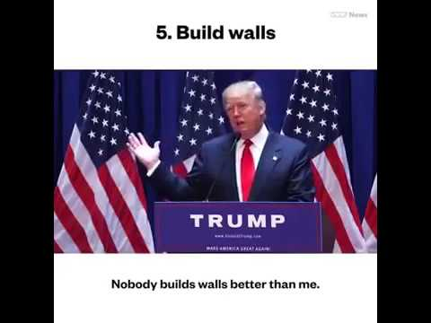 24 Things Nobody Does Better Than Donald Trump (according to Trump) [ New ]