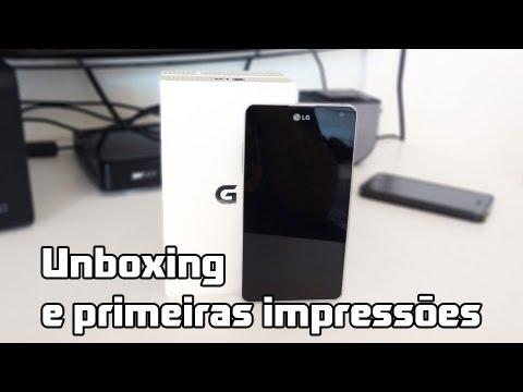 LG Optimus G branco: unboxing e primeiras impressões