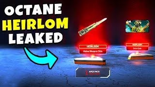 *NEW* OCTANES HEIRLOOM KNIFE LEAKED!! - NEW Apex Legends Funny & Epic Moments #248