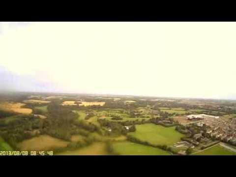 FPV flight over Dublin