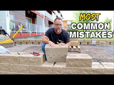common-retaining-wall-mistakes-&-how-to-avoid-them,-bad-designs,-bad-base,-wrong-block....#2