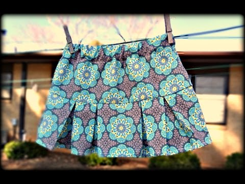 How To Make A Pleated Mini Skirt
