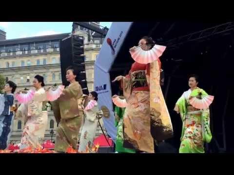 London Japan Matsuri festival - Trafalgar Square 19 September 2015
