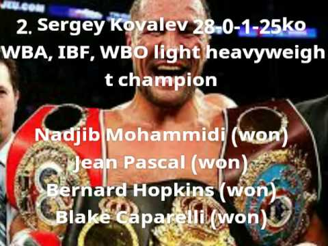The REAL top 10 boxing p4p List !! Ring magazine got it wrong