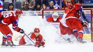 Хоккей: Россия - Дания 10:1 Обзор матча & Все голы / Чемпионат Мира / 12.05.2016