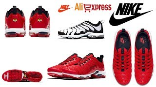 Original New Official Red Nike Air Max Plus on AliExpress