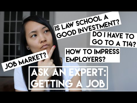 Advice On Finding A Legal Job From A Law School Career Counselor