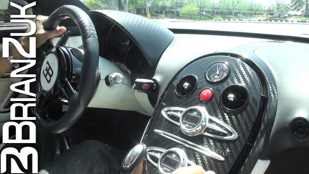 Ride in the Mansory Linea Vincero d'Oro Bugatti Veyron