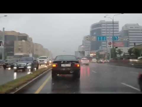 Raining Day in Almaty, Kazakhstan (2014.05.29)