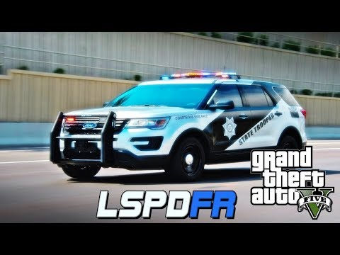 GTA 5 LSPDFR REAL LIFE COP #28 - ARIZONA DEPARTMENT OF PUBLIC SAFETY (GTA 5 REAL LIFE POLICE MOD)